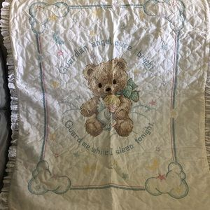 Other - Hand embroidered baby blanket